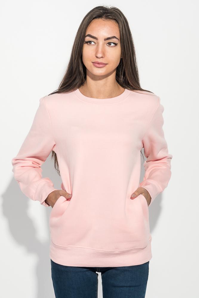Купить Джемпер женский теплый, с карманами 205V001-1, Time of Style, Розовый, Желтый, Алый, Черный, Электрик, Светло-розовый