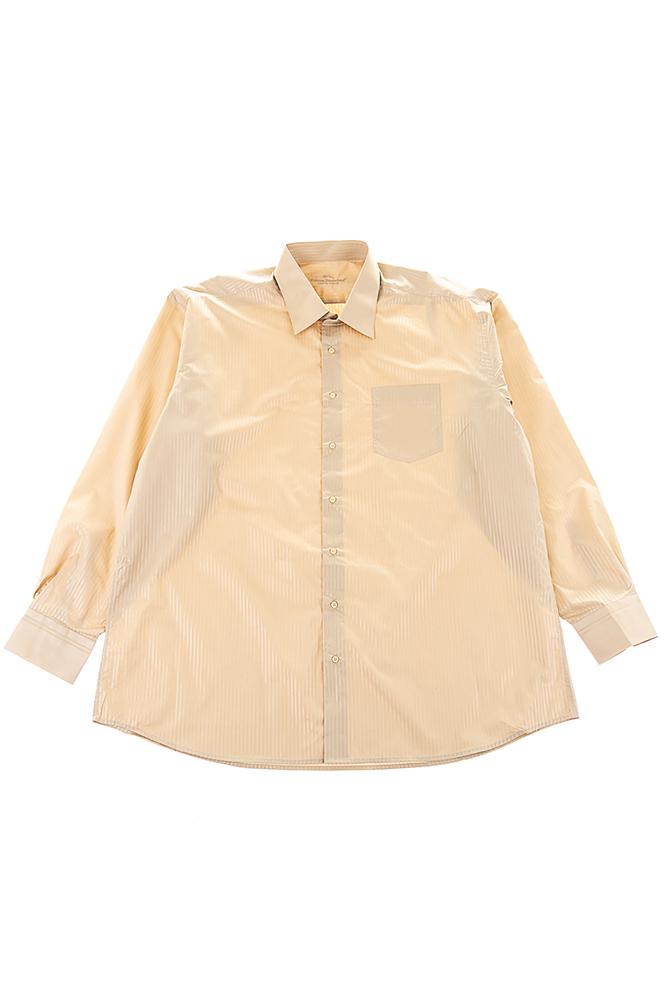 Купить Рубашка мужская в полоску, крупный карман 50PD0032, Time of Style, Бежевый, Салатовый, Бирюзовый, Черный, Ярко-розовый, Сиреневый