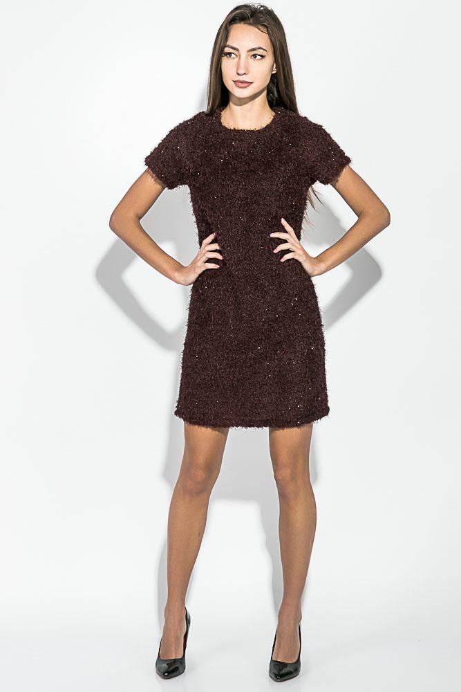 Платье женское,свободного покроя, короткий рукав 64PD353 от Time of Style