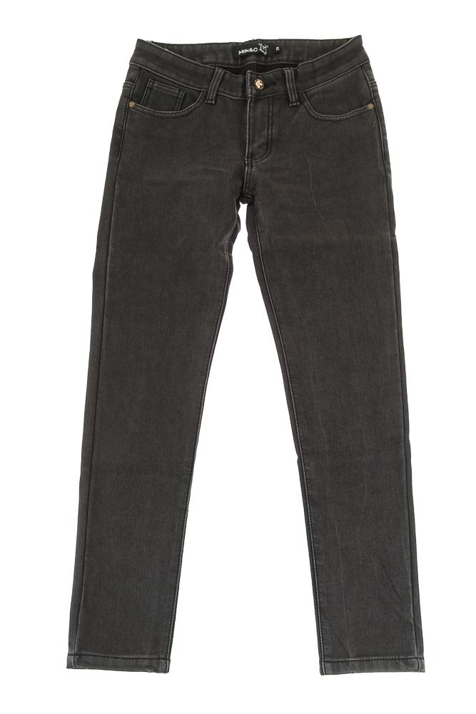 Купить Джинсы женские зимние 19PL127-1, Time of Style, Серый