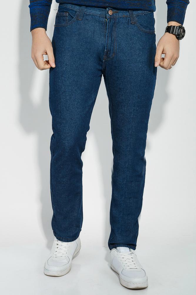 Купить Джинсы мужские с прямыми брючинами 19PL130, Time of Style, Чернильный