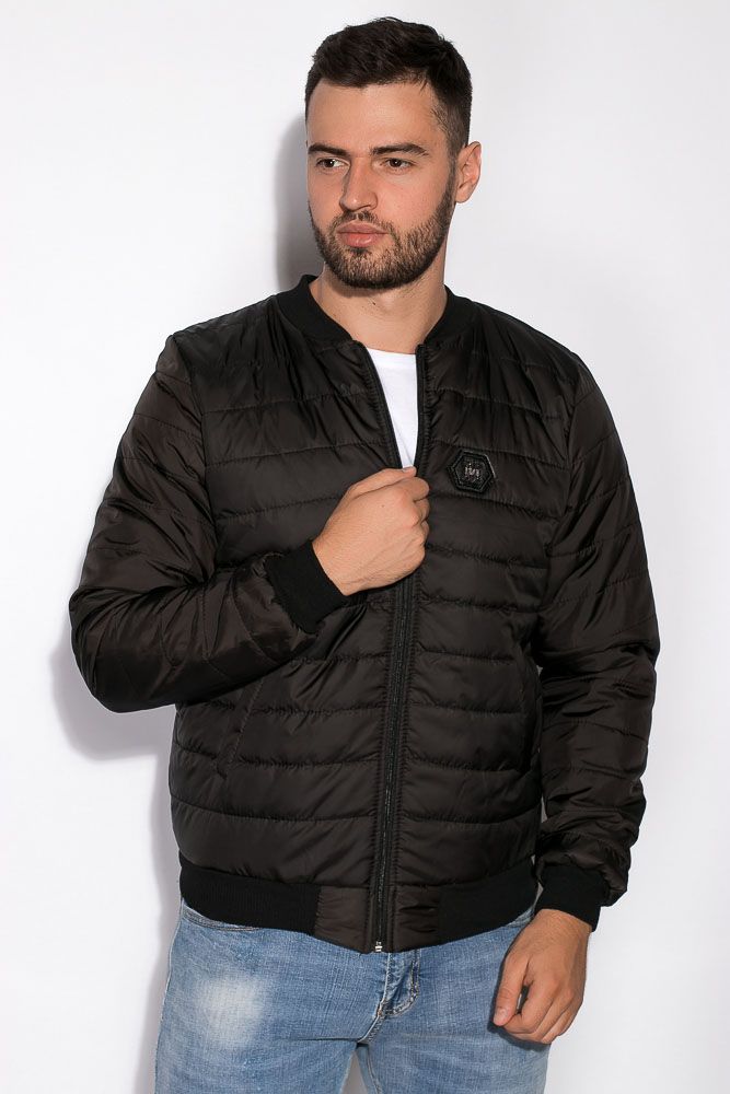 Купить Куртка мужская 83P0077, Time of Style, Темно-синий, Хаки, Черный