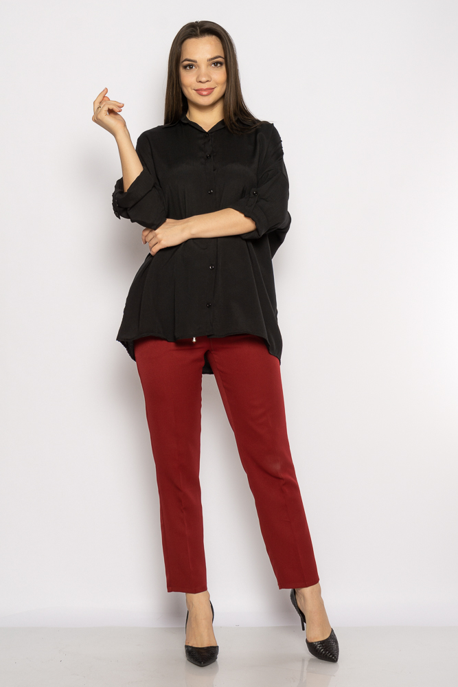 Акция на Рубашка женская свободного покроя 632F003-2 от Time Of Style - 15