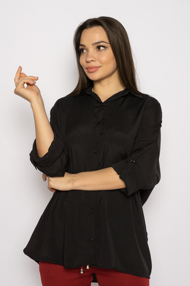 Акция на Рубашка женская свободного покроя 632F003-2 от Time Of Style - 16