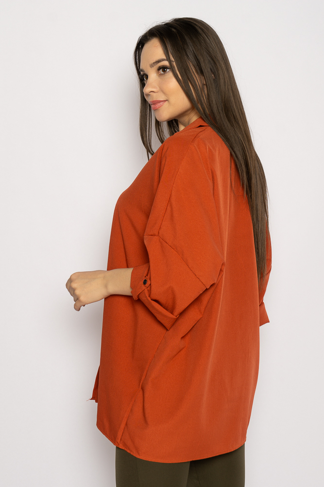 Акция на Рубашка женская свободного покроя 632F003-2 от Time Of Style - 4