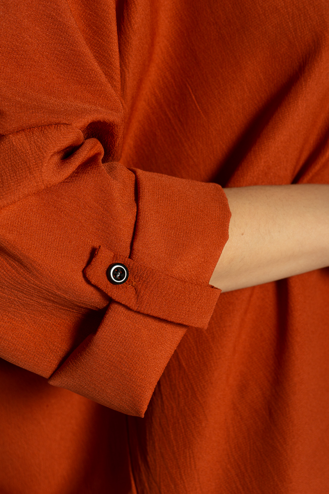 Акция на Рубашка женская свободного покроя 632F003-2 от Time Of Style - 7
