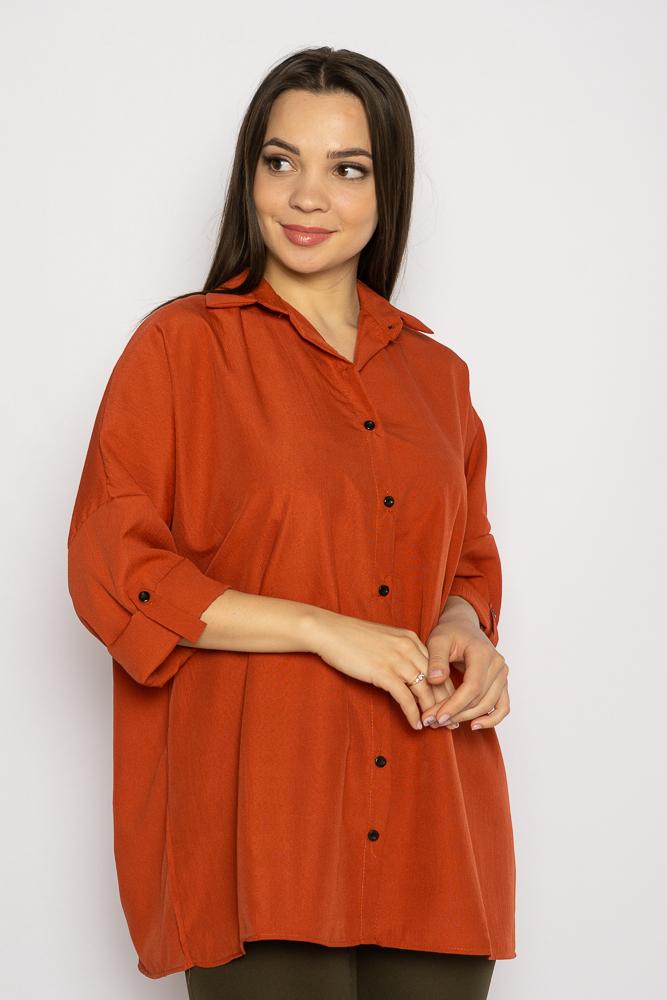 Акция на Рубашка женская свободного покроя 632F003-2 от Time Of Style - 2