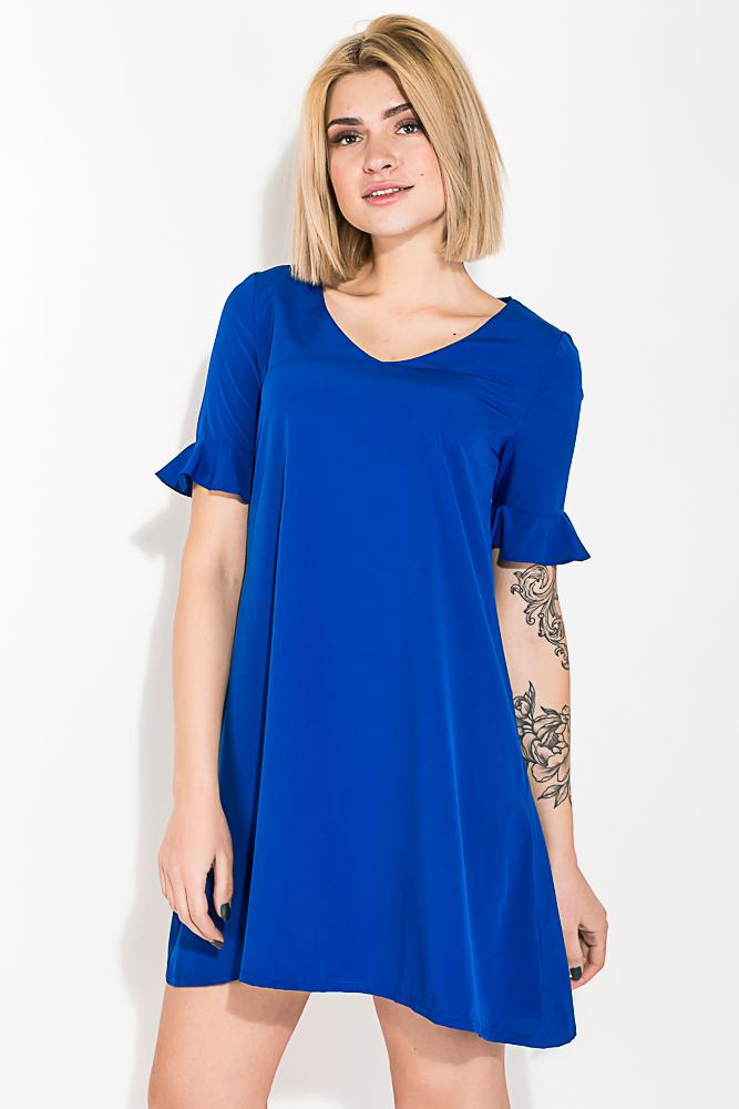 Платье женское, короткое, яркие цвета 74P101 от Time of Style