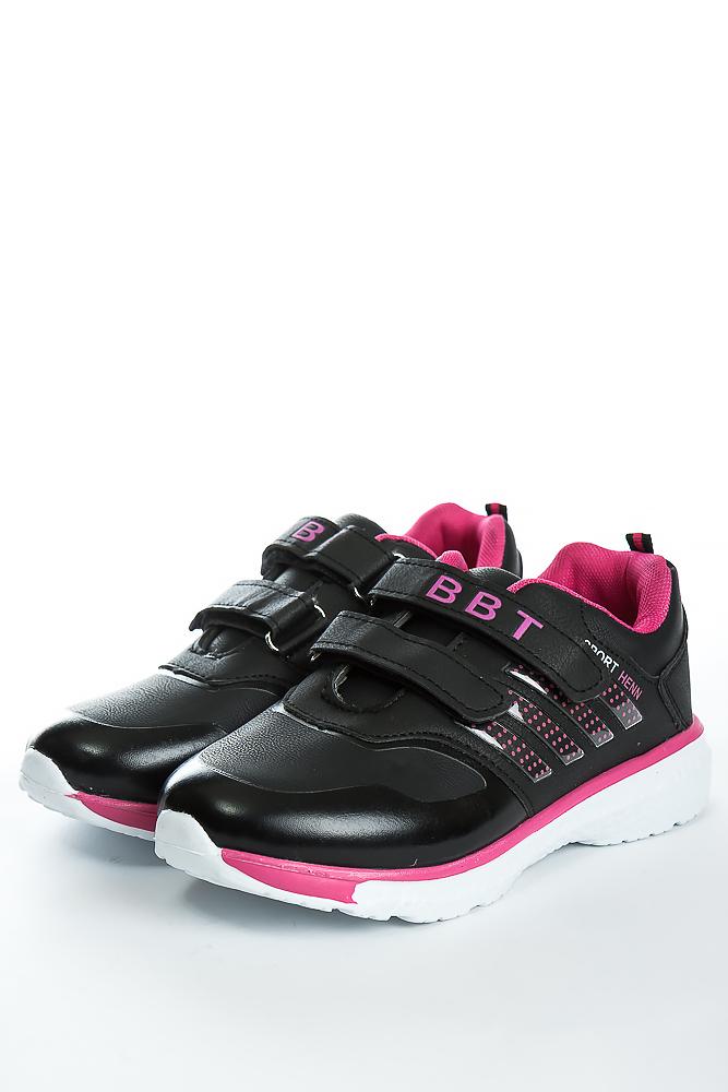 Купить Детская обувь, Кроссовки 11P117 junior, Time of Style, Черно-розовый