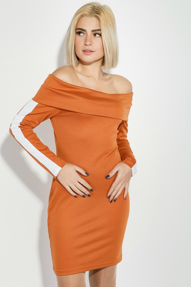 Платье с открытыми плечами 78PD4002