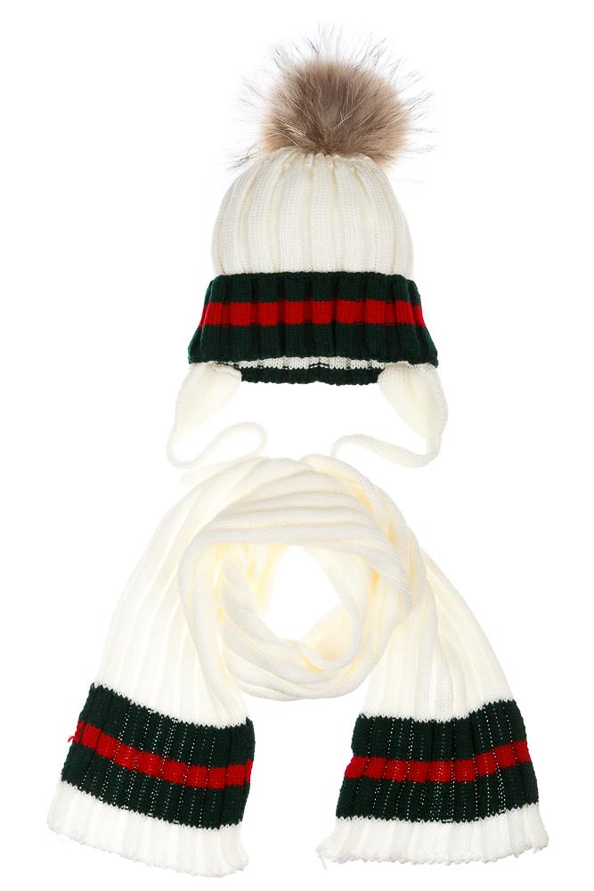 Купить Комплект (двойка) женский в полоску 65P0032, Time of Style, Белый, Пудровый, Серо-бежевый, Серый меланж, Темно-синий, Черный