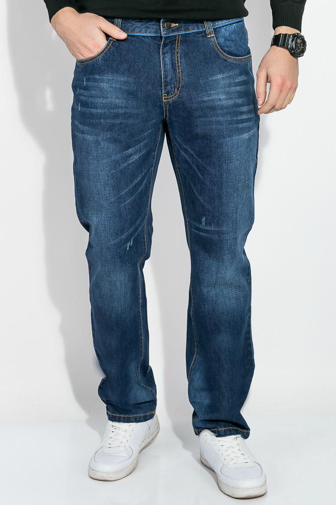 Купить Джинсы мужские прямого покроя 344V001, Time of Style, Синий