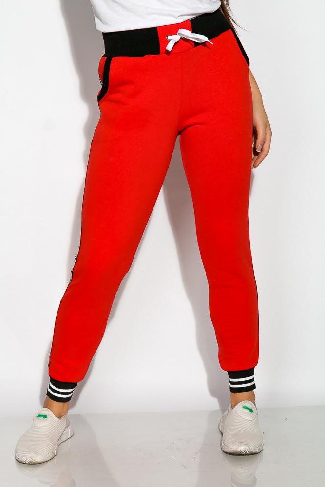 Купить Брюки женские спортивные 120PAZN013, Time of Style, Марсала-черный, Бордо, Хаки-черный, Черный, Светло-серый, Красно-черный