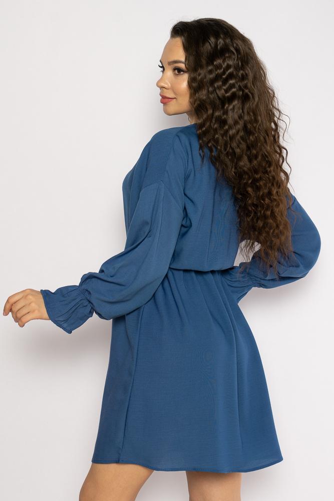 Акция на Однотонное платье с длинными рукавами 632F004-3 от Time Of Style - 17
