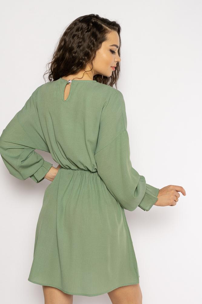 Акция на Однотонное платье с длинными рукавами 632F004-3 от Time Of Style - 23