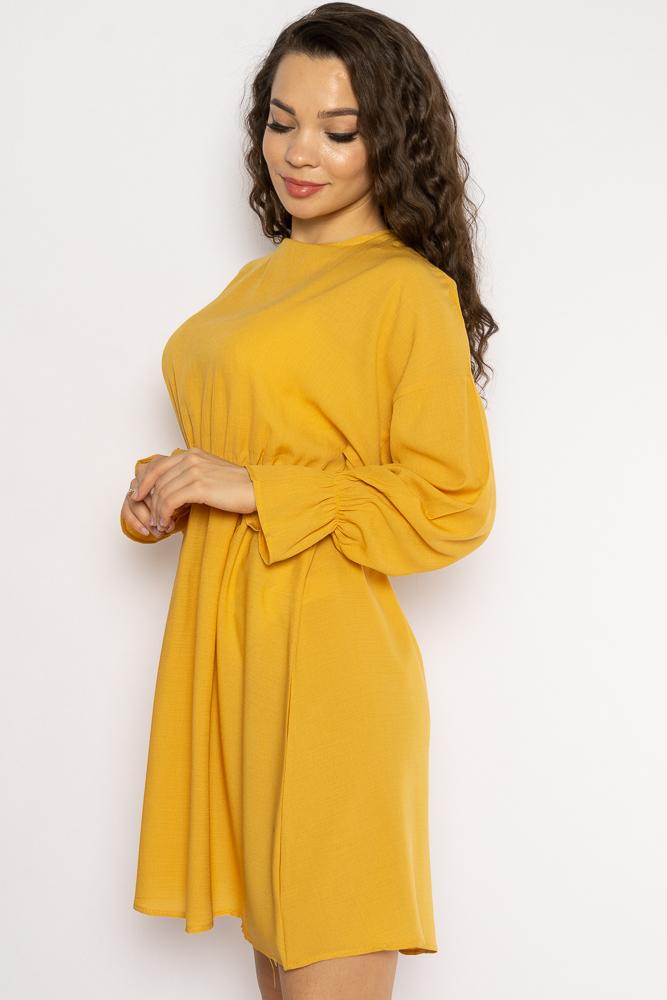 Акция на Однотонное платье с длинными рукавами 632F004-3 от Time Of Style - 25