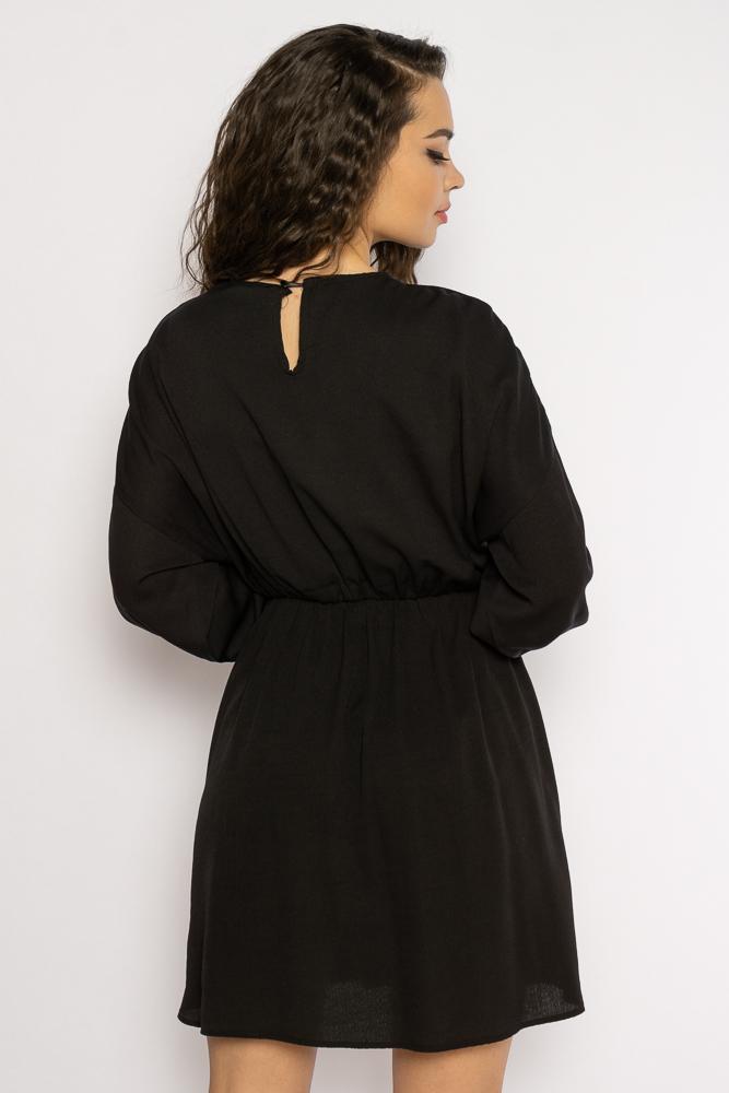 Акция на Однотонное платье с длинными рукавами 632F004-3 от Time Of Style - 34