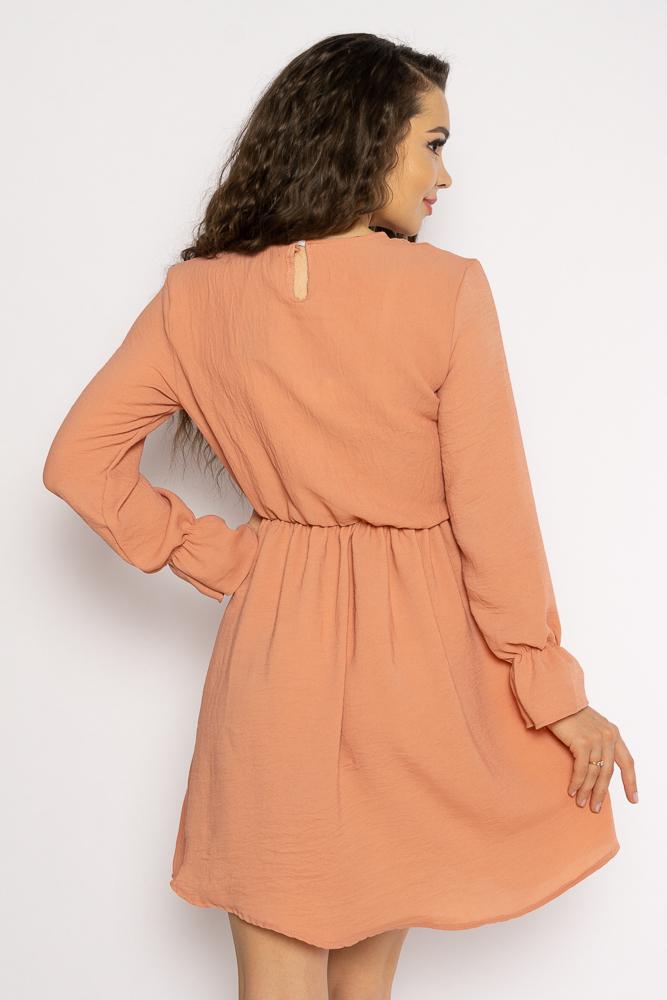 Акция на Однотонное платье с длинными рукавами 632F004-3 от Time Of Style - 11