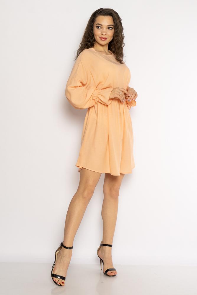 Акция на Однотонное платье с длинными рукавами 632F004-3 от Time Of Style - 9