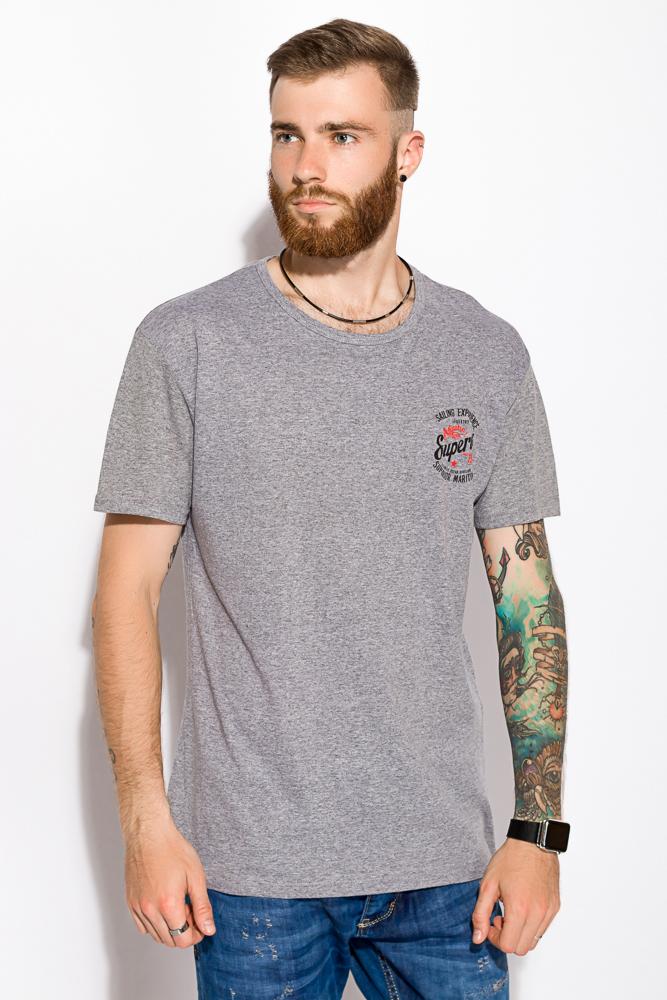 Купить Мужские футболки, Футболка 168F140, Time of Style, Бордо, Оливковый, Серый, Темно-синий, Черный