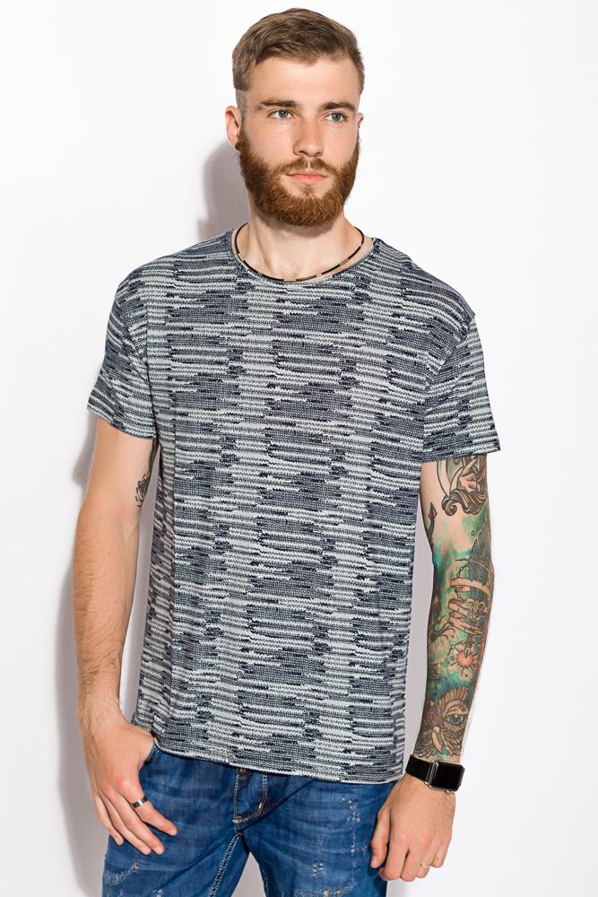 Купить Мужские футболки, Футболка 168F133, Time of Style, Сине-серый