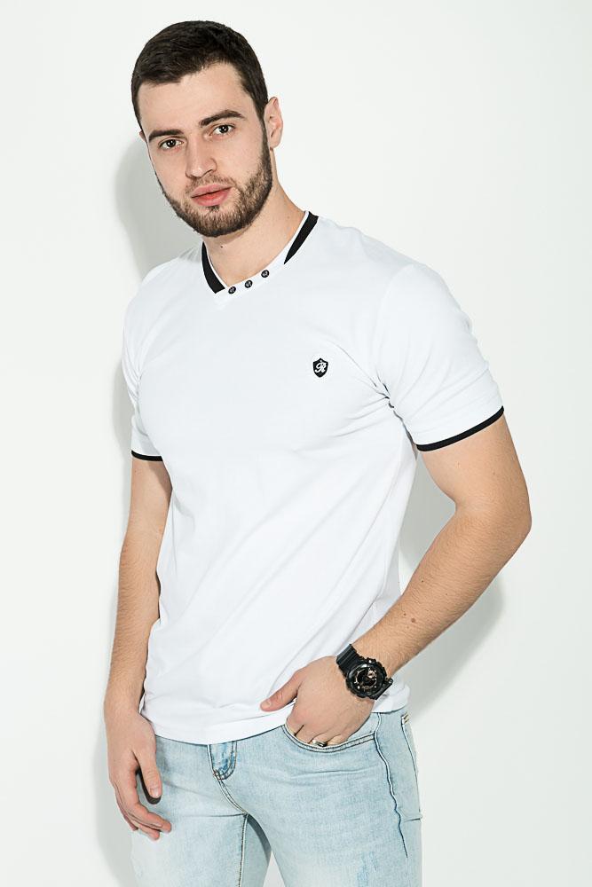 Купить Мужские футболки, Футболка мужская 81P2118, Time of Style, Белый, Синий, Коралловый