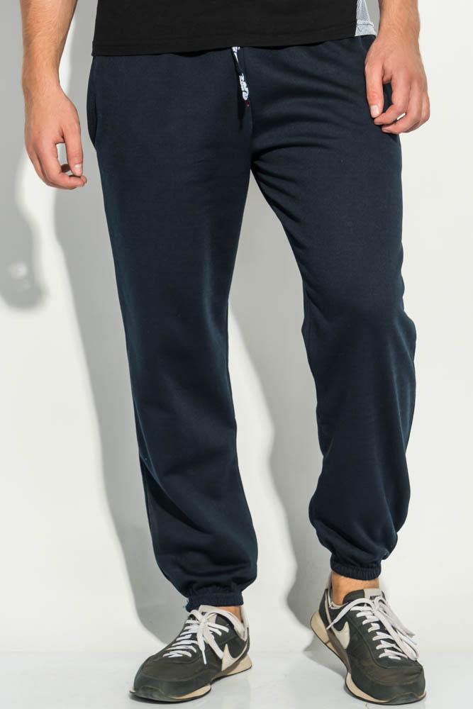 Купить Брюки спорт мужские однотонные, теплые 19PL136, Time of Style, Черный, Светло-серый, Темно-серый, Серый, Темно-синий