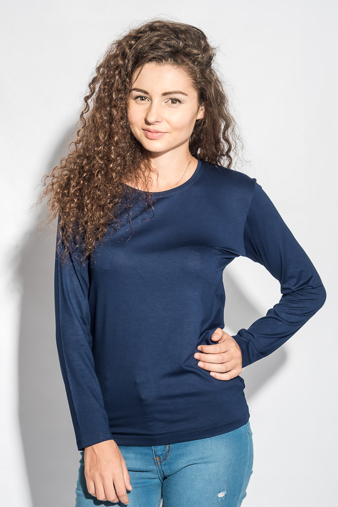 Купить Джемпер женский приятный в носке 296F008, Time of Style, Черный, Молочный, Оливковый, Морковный, Синий, Темно-синий, Розовый, Чернильный, Светло-бирюзовый, Бледно-розовый