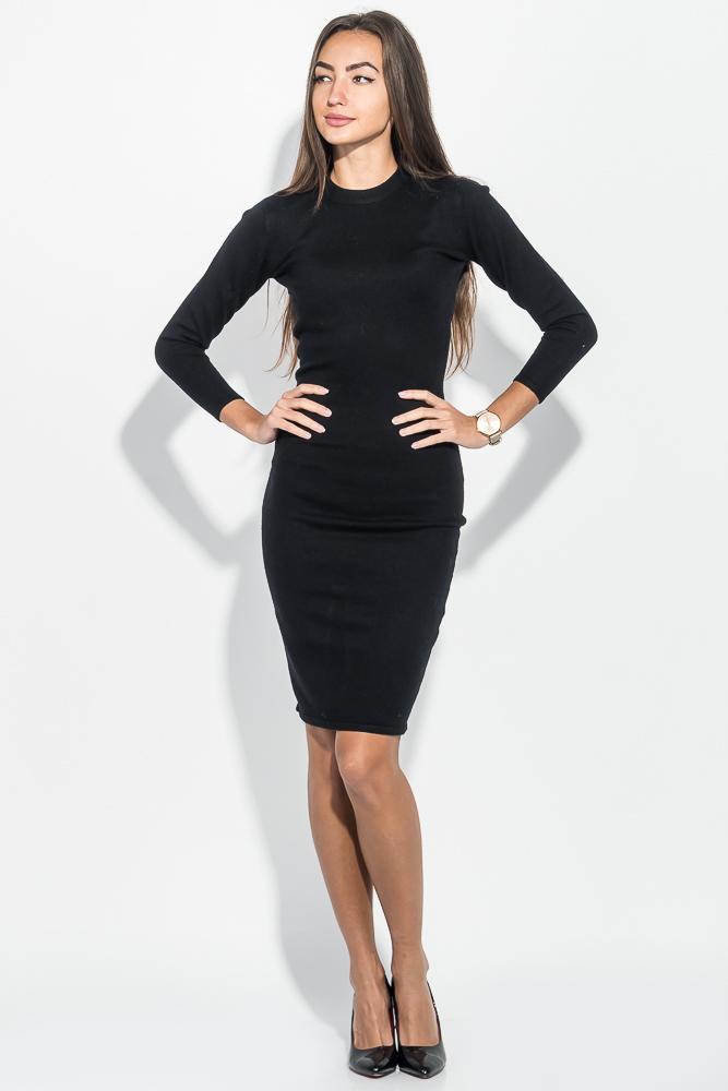 Купить Платье женское приталенное, длинное 275V001, Time of Style, Персиковый