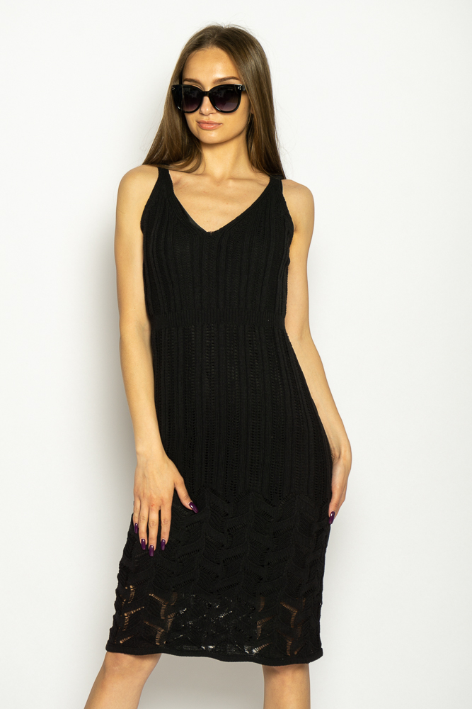 Акция на Платье вязаное с узором 629F004 от Time Of Style - 10