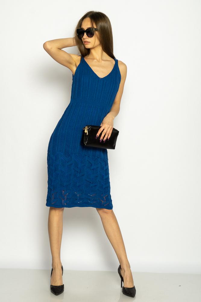 Акция на Платье вязаное с узором 629F004 от Time Of Style - 2