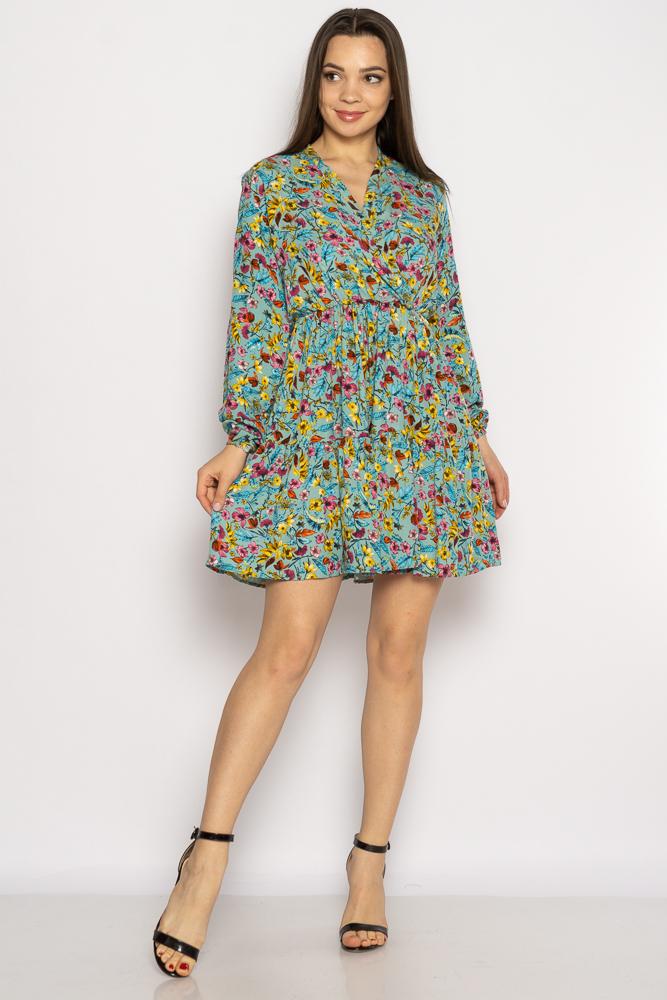 Акция на Платье в цветочек 632F012 от Time Of Style - 2