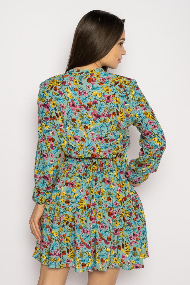 Акция на Платье в цветочек 632F012 от Time Of Style - 4