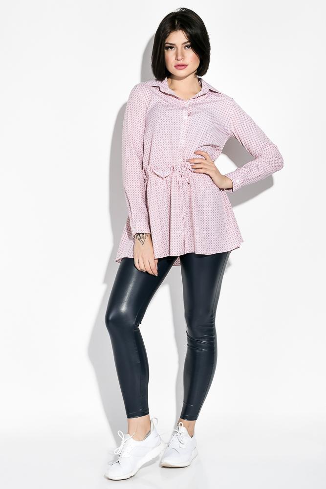 Купить Туника женская 64PD241-12, Time of Style, Розовый, кубики
